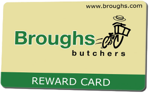 Broughs reward card
